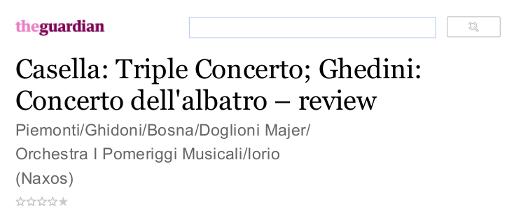 Guardian review